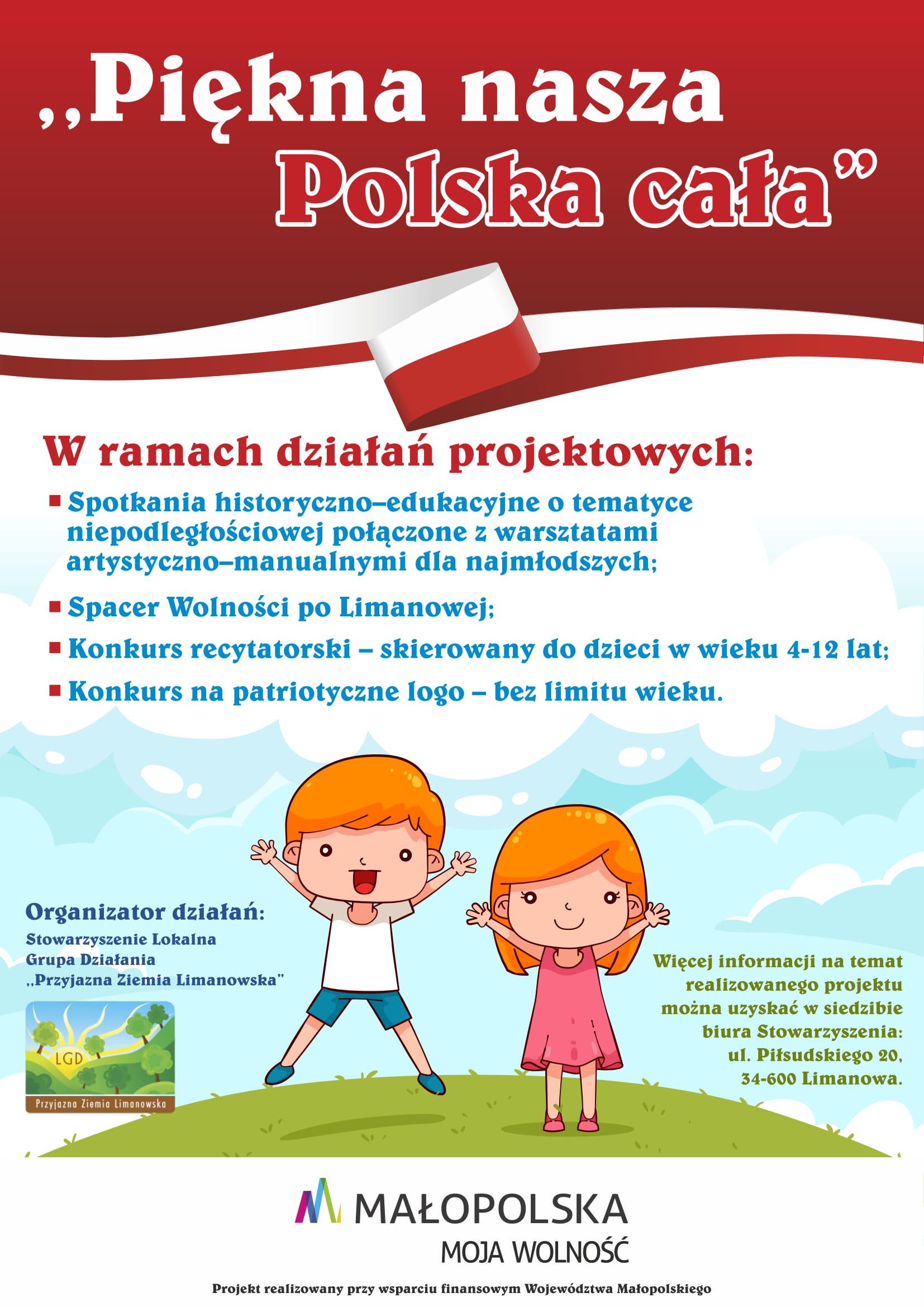 Lgd Z Dotacją Na Projekt Pn Quotpiękna Nasza Polska
